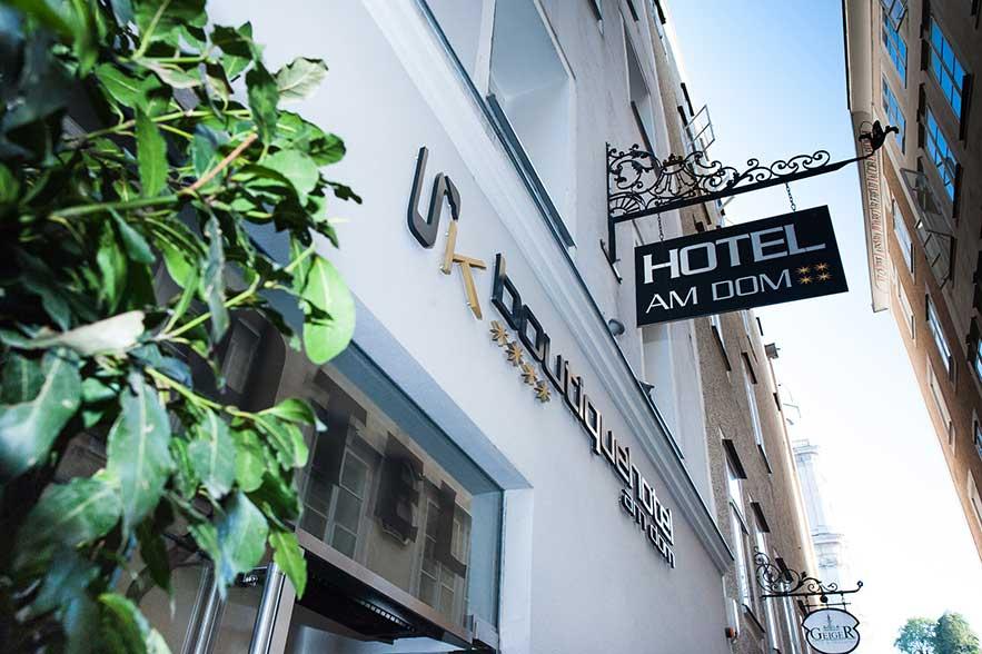 Hotel Am Dom Boutiquehotel Im Herzen Der Salzburger Altstadt